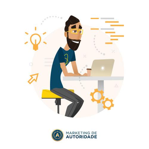 Estabelecer a presença digital no Marketing de Autoridade