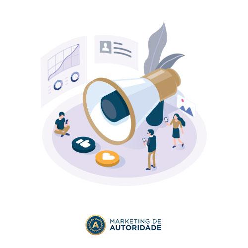 Marketing de Autoridade - Mídia Alugada