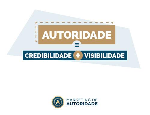 Conceito marketing de autoridade - Credibilidade e Visibilidade